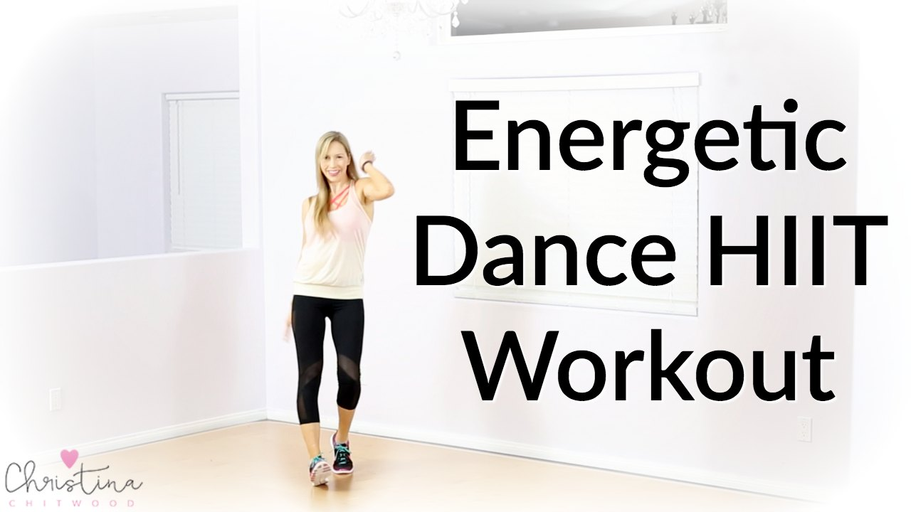 Energetic Dance HIIT Workout {Dance Fitness Tutorial}