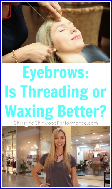 Eyebrows: Is Threading or Waxing Better?