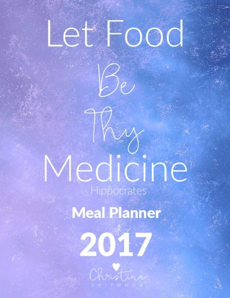 Meal Planner 2017