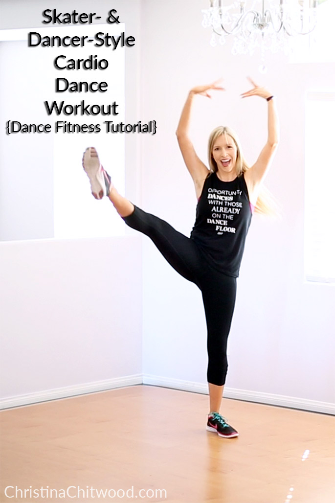 Skater- and Dancer-Style Cardio Dance Workout {Fitness Tutorial}