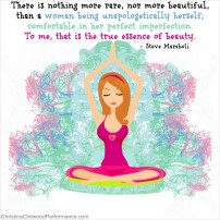 "Body Image Free Printable – ""True Essence of Beauty"" Word Art"