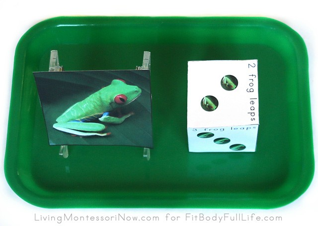 Frog Leaps Dice Game Tray