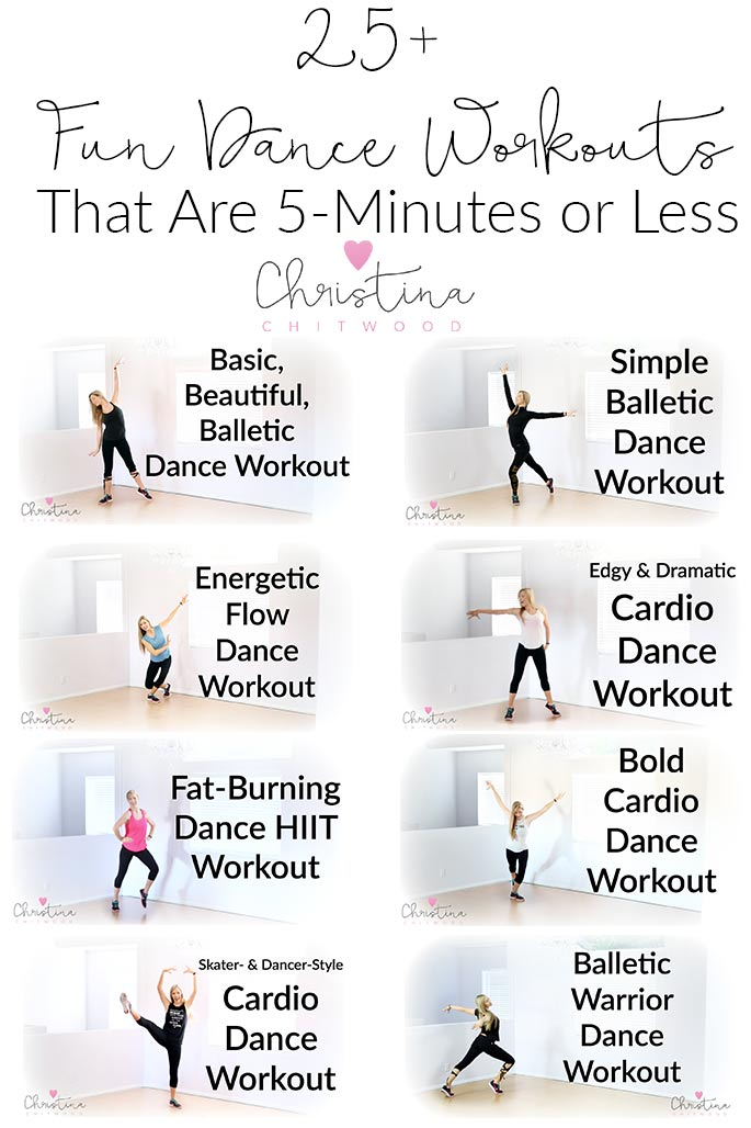 25+ Fun Dance Workouts That Are 5-Minutes or Less