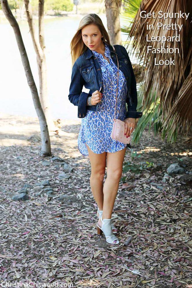 Get Spunky in Pretty Leopard Fashion Look