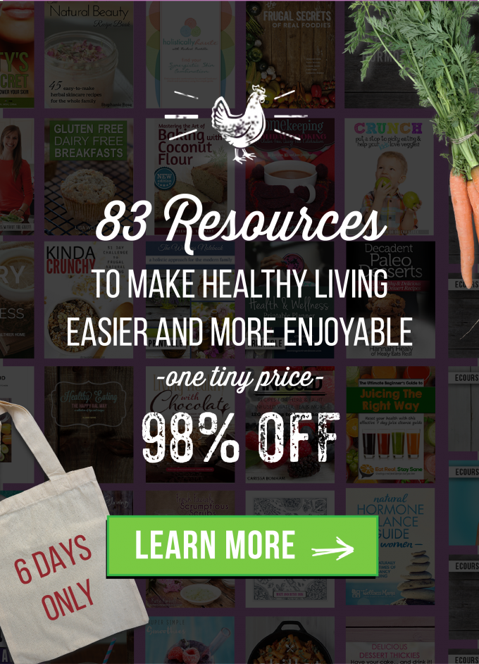 Improve Your Health with the Ultimate Healthy Living Bundle ($2,417.58 Worth of Products for $29.97)!