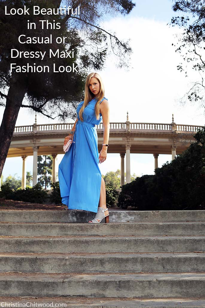 Look Beautiful in This Casual or Dressy Maxi Fashion Look