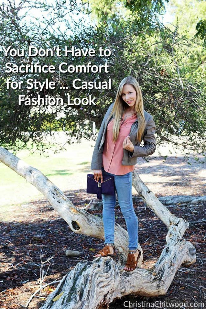 You Don't Have to Sacrifice Comfort for Style ... Casual Fashion Look