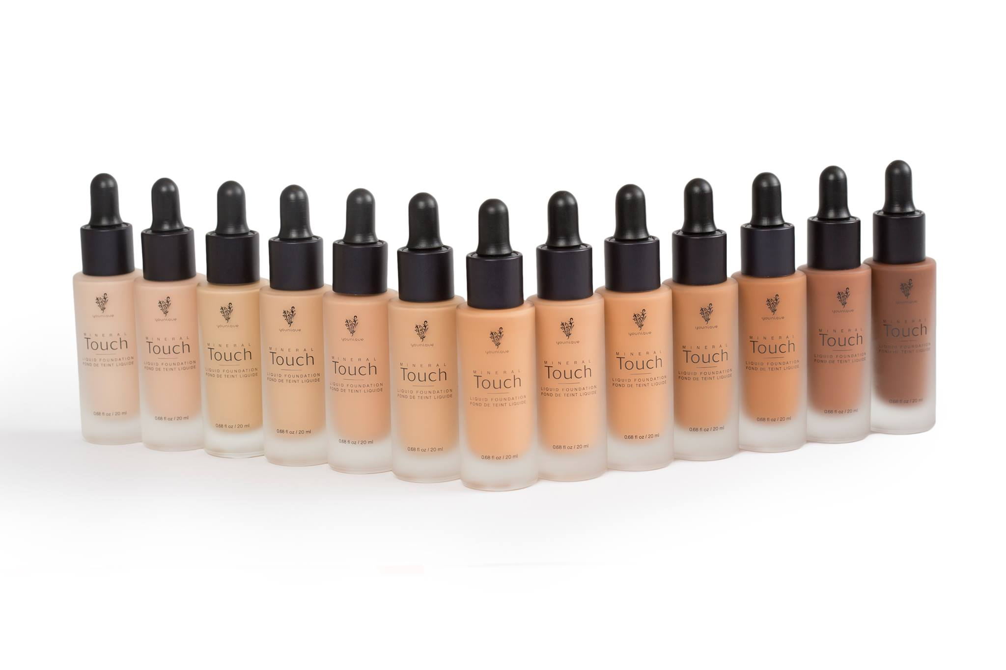 Younique Touch Mineral Foundations