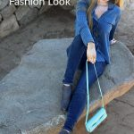 Classy and Casual Blue Fashion Look