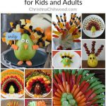 20+ Cute, Healthy Fruit and Vegetable Turkeys for Kids and Adults