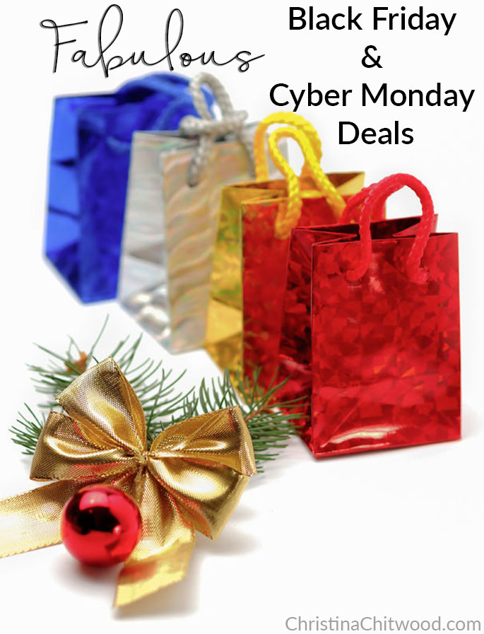 Fabulous Black Friday and Cyber Monday Deals