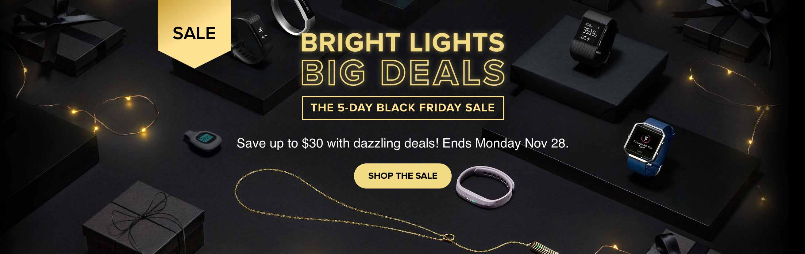 Fitbit Black Friday and Cyber Monday Sale