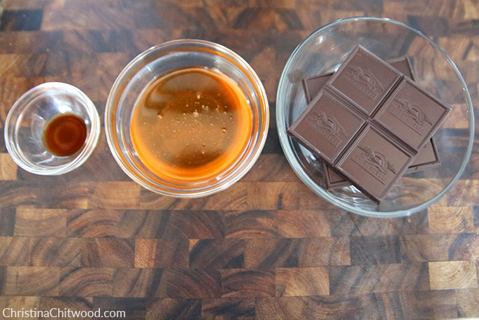 Ingredients for Healthy Chocolate the Easy Way {Sugar-free, Dairy-Free, and Gluten-Free}