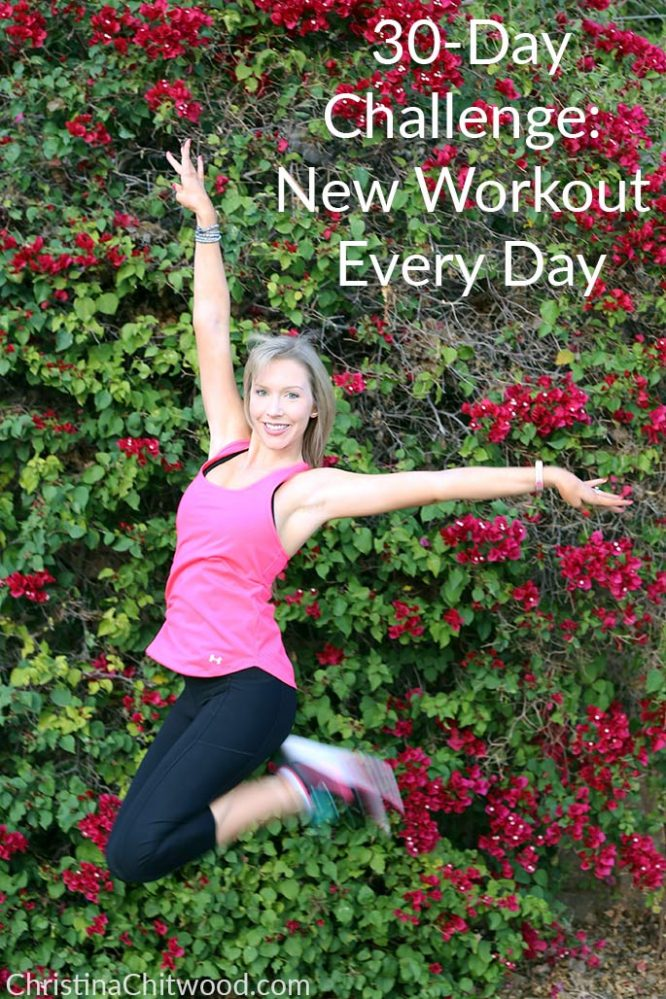 30-Day Challenge: New Workout Every Day