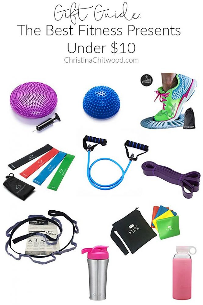 Gift Guide: The Best Fitness Presents Under $10