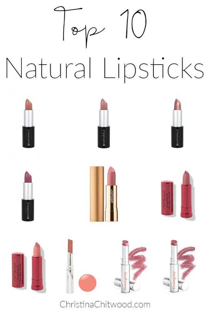 Top 10 Natural Lipsticks