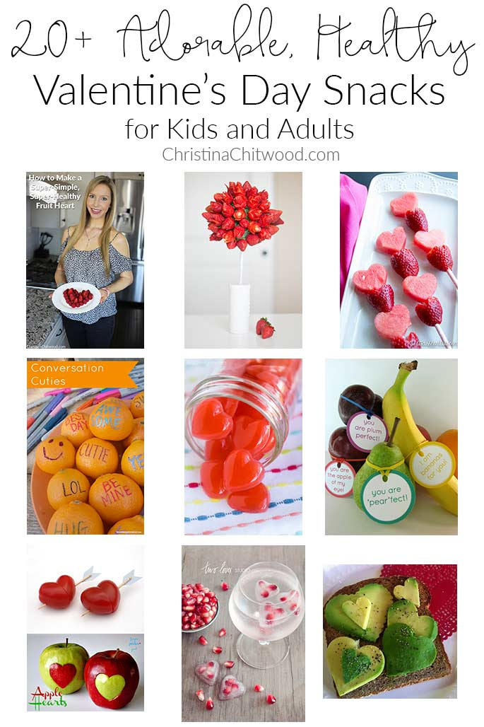 20+ Adorable, Healthy Valentine's Day Snacks for Kids and Adults