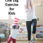 Cat in the Hat Hop On One Leg Exercise for Kids