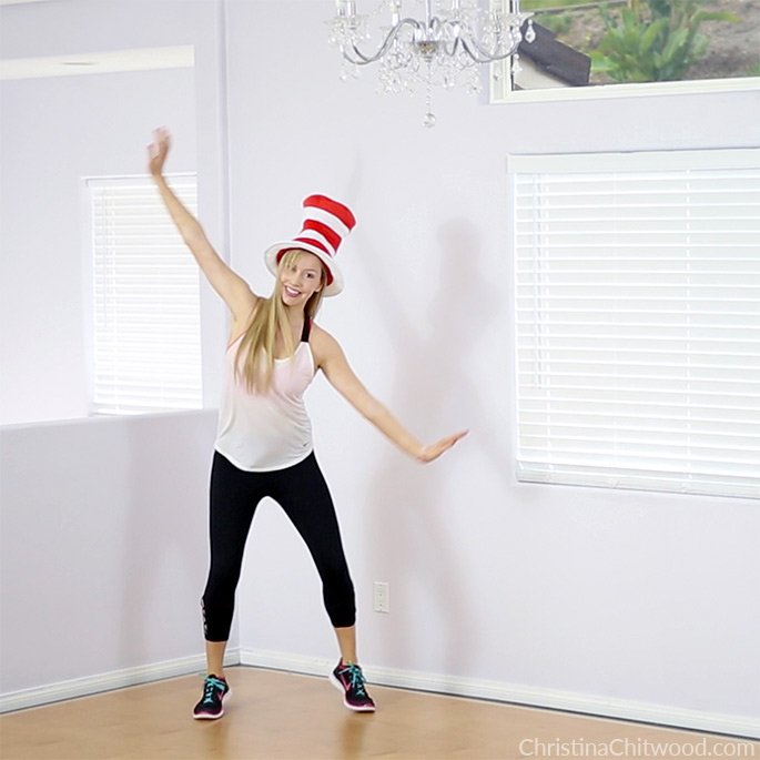 Cat in the Hat Workout for Kids and Kids at Heart