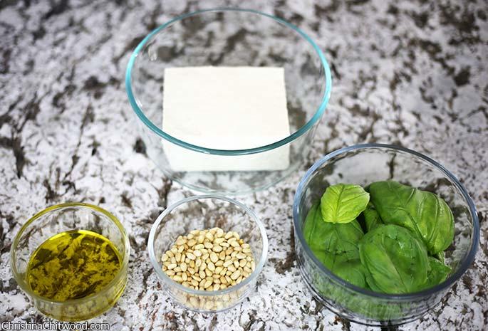Vegan Pesto Scramble {Dr. Seuss Inspired Green Eggs} - 1