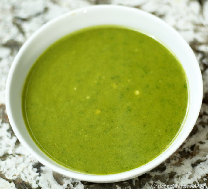 Vegan Pesto Scramble {Dr. Seuss Inspired Green Eggs} - 3
