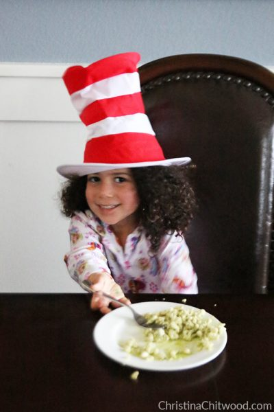 Vegan Pesto Scramble {Dr. Seuss Inspired Green Eggs} - 5