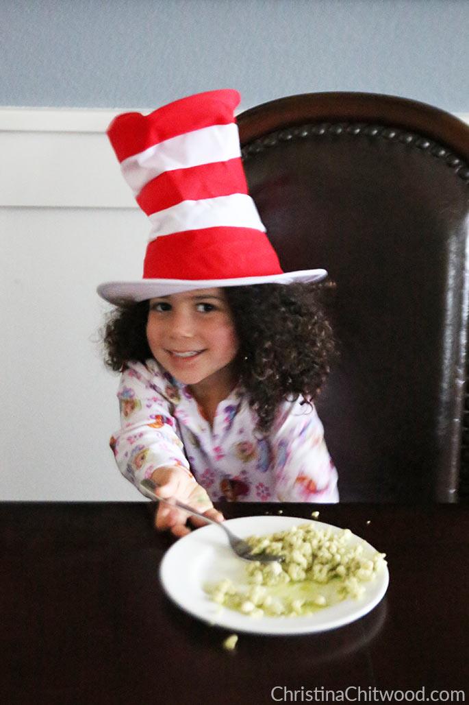 Vegan Pesto Scramble {Dr. Seuss Inspired Green Eggs} - 5