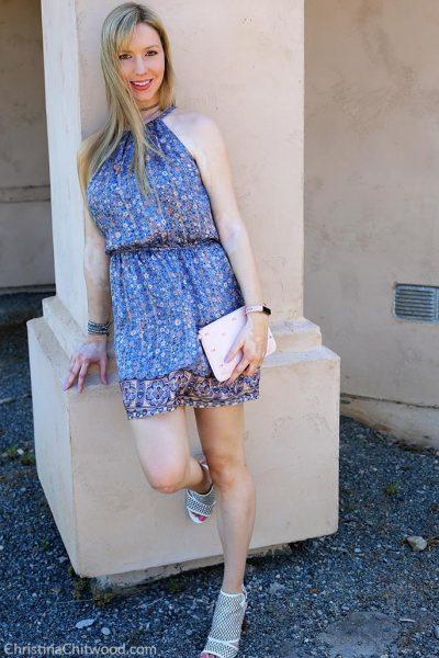 Joie Silk Dress, Ted Baker Crossbody Handbag, and Via Spiga Shoes - 3