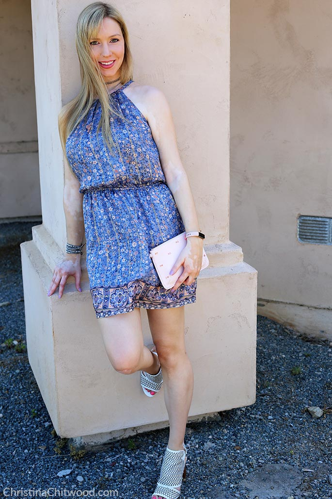 Joie Silk Dress, Ted Baker Crossbody Handbag, and Via Spiga Shoes - 3