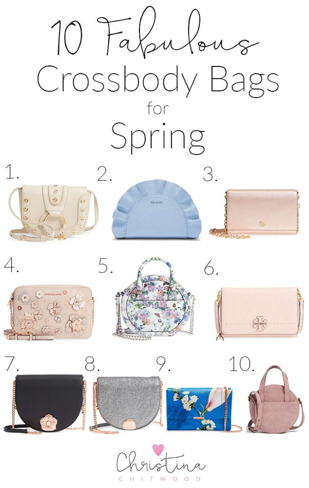 10 Fabulous Crossbody Bags for Spring