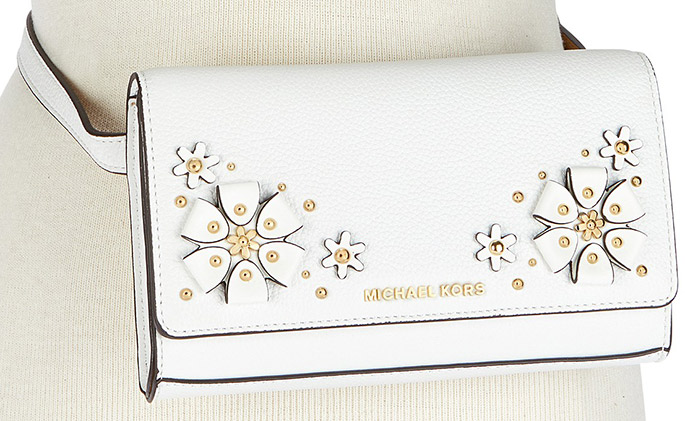 Michael Kors 3-D Flower Garden Belt Bag