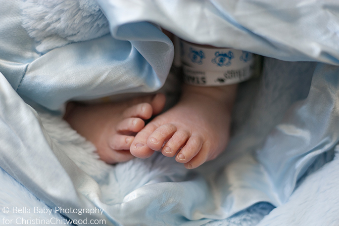 Our Baby Boy's Sweet Feet