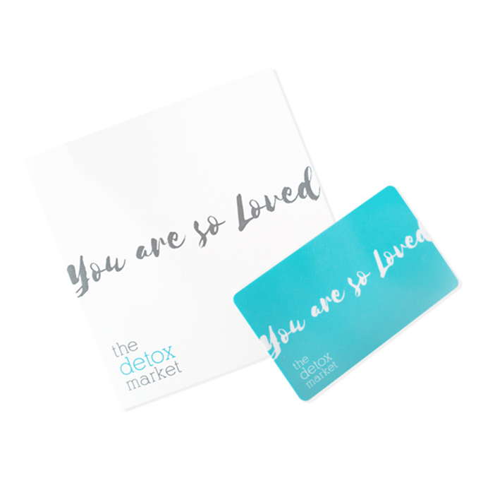 The Detox Market Electronic Gift Card