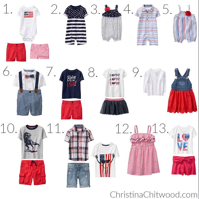 100+ Super-Cute 4th of July Outfits for Babies and Toddlers - Square