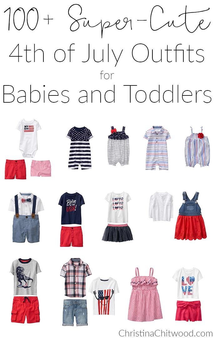 100+ Super-Cute 4th of July Outfits for Babies and Toddlers