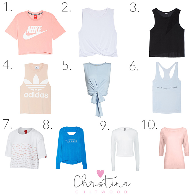 50+ Fabulous Activewear Tops for Summer - Square