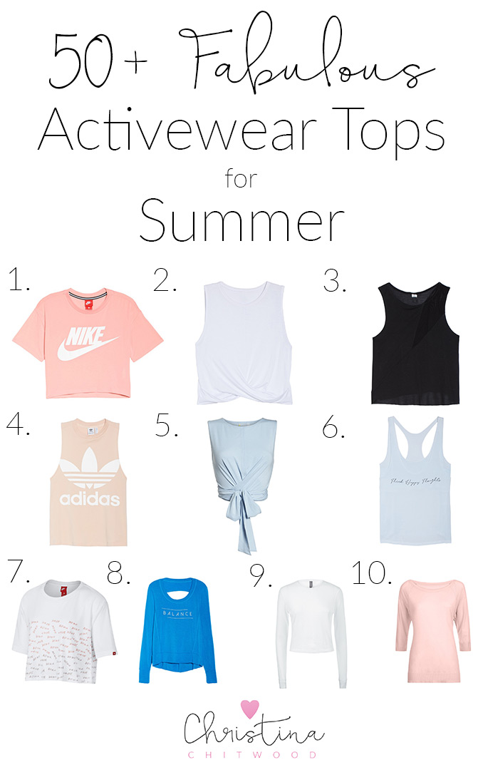50+ Fabulous Activewear Tops for Summer