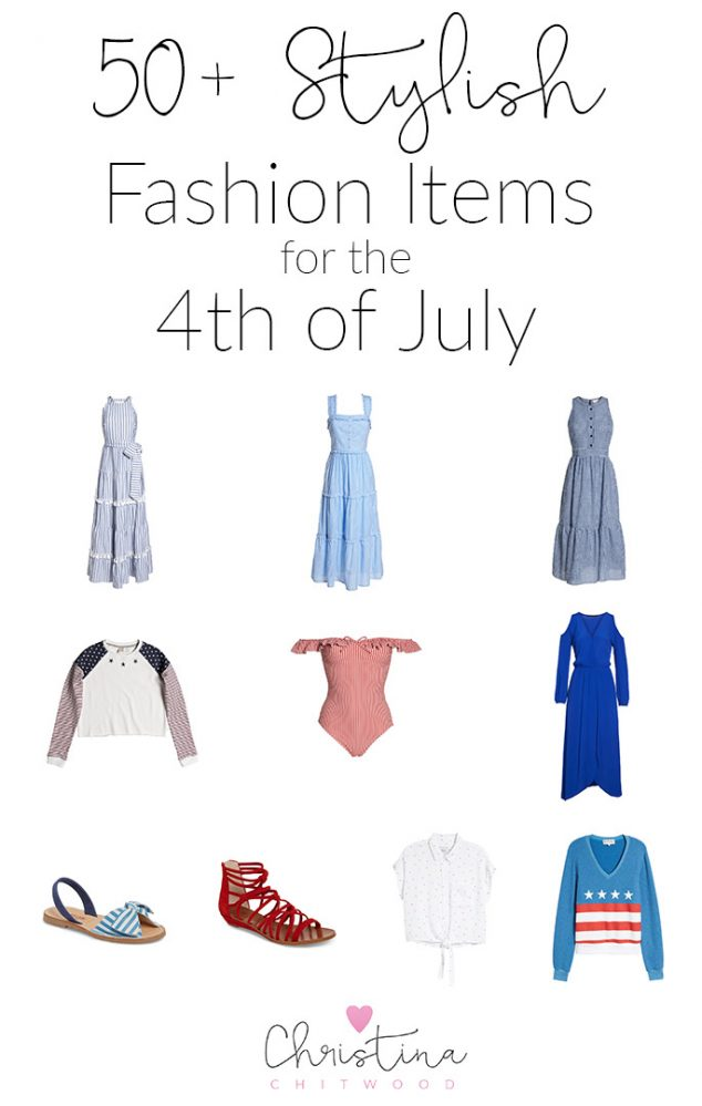 50+ Stylish Fashion Items for the 4th of July