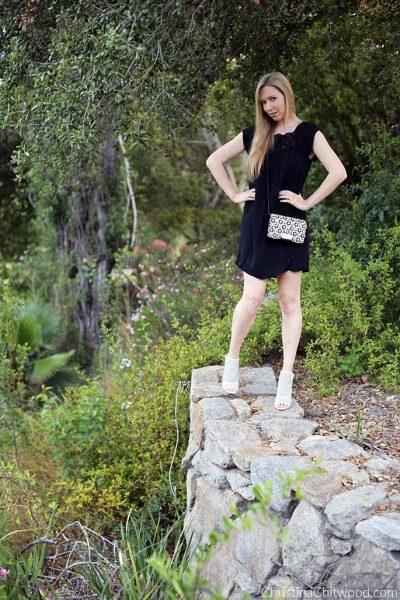 Joie Dress, Zac Posen Handbag, and Via Spiga Shoes - 2