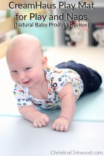CreamHaus Play Mat for Play and Naps {Natural Baby Product Review}