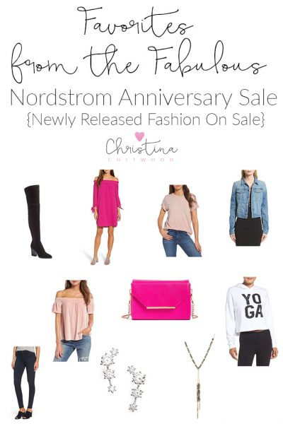 Favorites from the Fabulous Nordstrom Anniversary Sale {Newly Released Fashion On Sale}