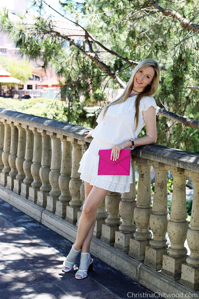 Joie Dress, Rebecca Minkoff Clutch, and Via Spiga Shoes - 3