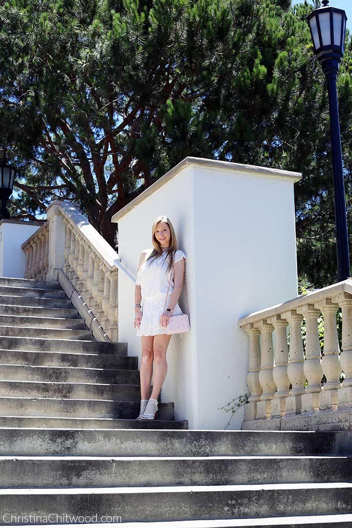 Joie Dress, Ted Baker Crossbody Handbag, and Via Spiga Shoes - 1