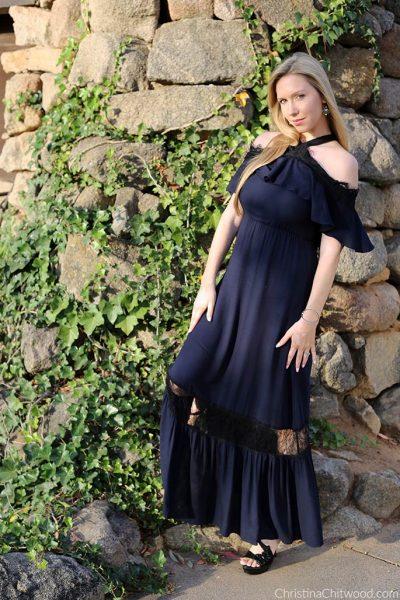 Alice + Olivia Dress and Nadri Jewelry - 1