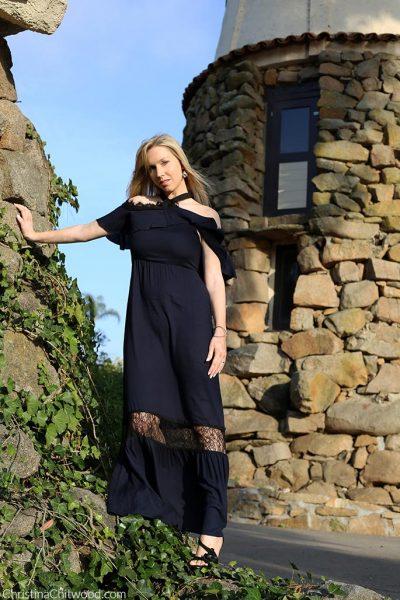 Alice + Olivia Dress and Nadri Jewelry - 2