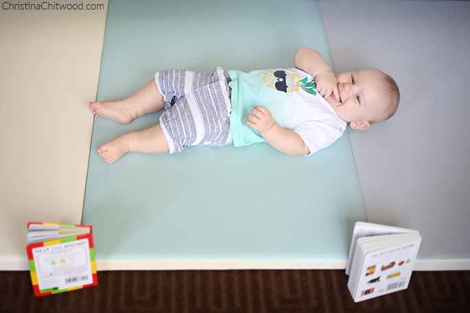 Our Baby Boy Having Fun in His Montessori Space on His Fourth Trip at 5 Months Old
