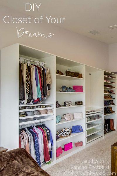 DIY Closet of Your Dreams