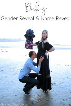 Stress-Free Baby Gender Reveal and Name Reveal
