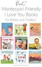 "Best Montessori-Friendly ""I Love You"" Books for Babies and Toddlers"