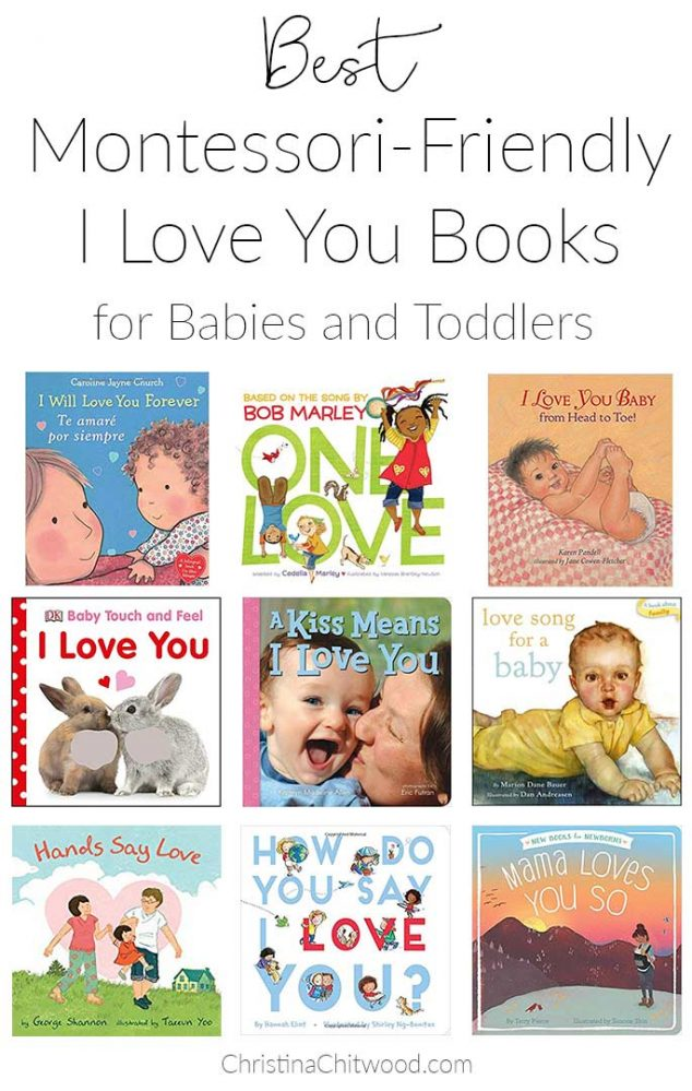 Best Montessori-Friendly I Love You Books for Babies and Toddlers